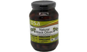 1Kg Natural Black Olives